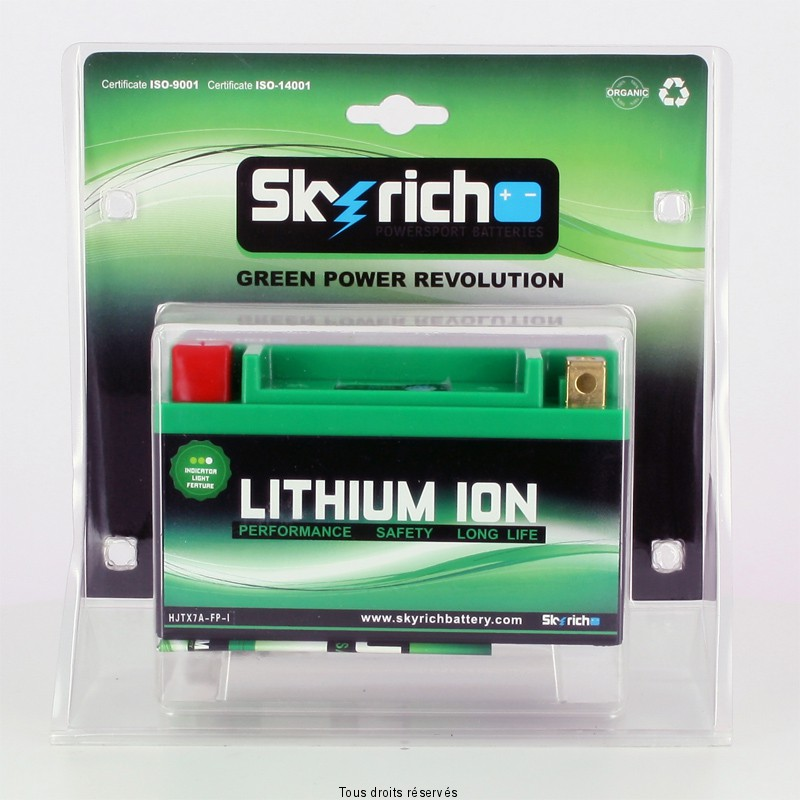 Batteria Litio Skyrich YTX7A-BS / HJTX7A-FP-S