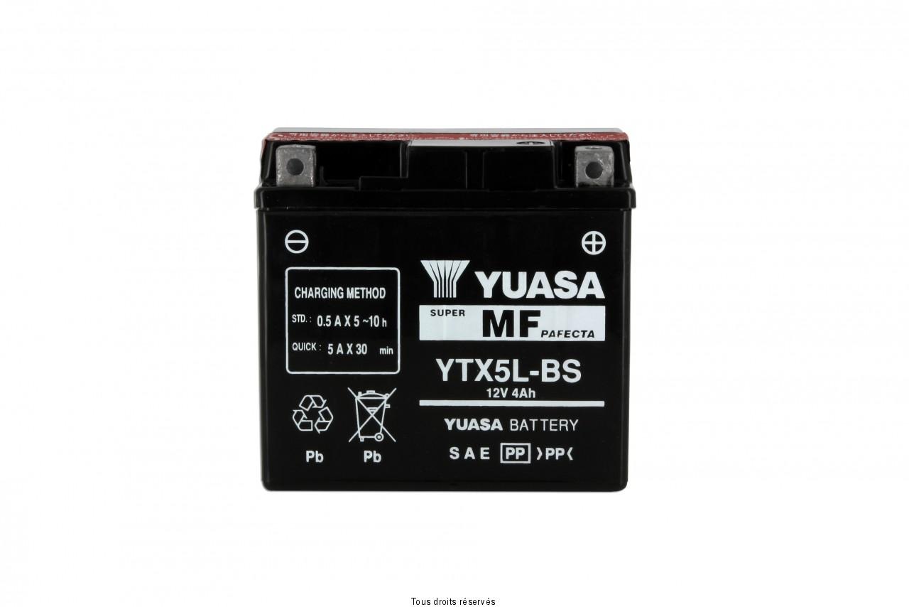 Ytx5l-bs  – X6 L 114mm  W 71mm  H 106mm 12v 4ah