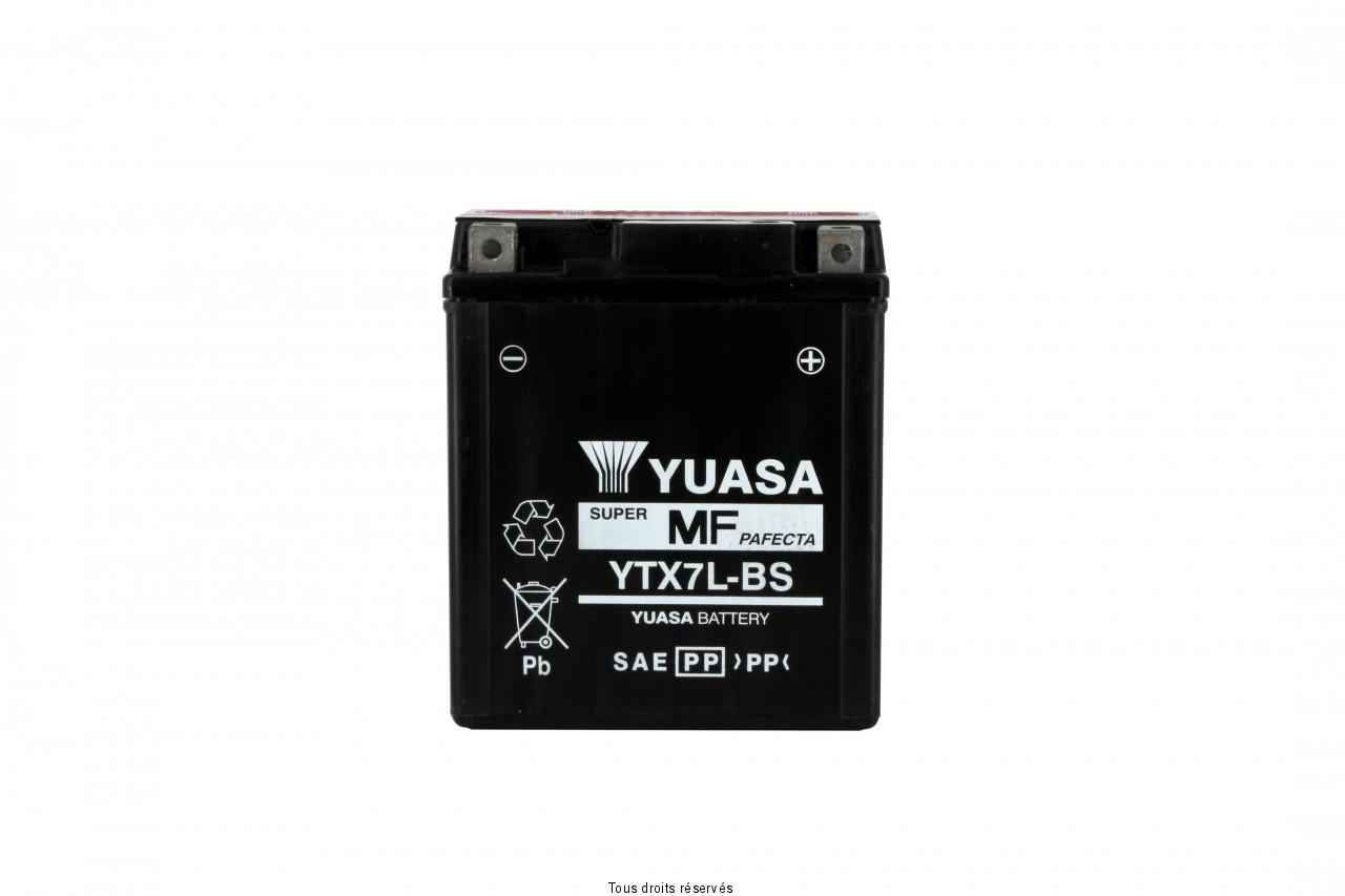 Ytx7l-bs  – X6 L 114mm  W 71mm  H 131mm 12v 6ah