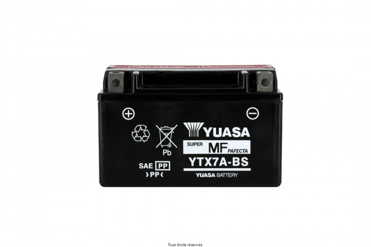 Ytx7a-bs  – X6  L 150mm  W 87mm  H 94mm 12v 6ah