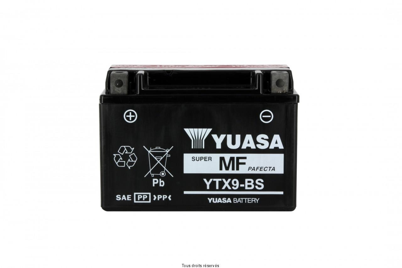 Ytx9-bs  – X6 L 150mm  W 87mm  H 105mm 12v 8ah