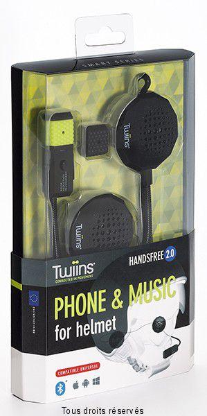 Kit Bluetooth TWIINS Handsfree 2.0 Stereo
